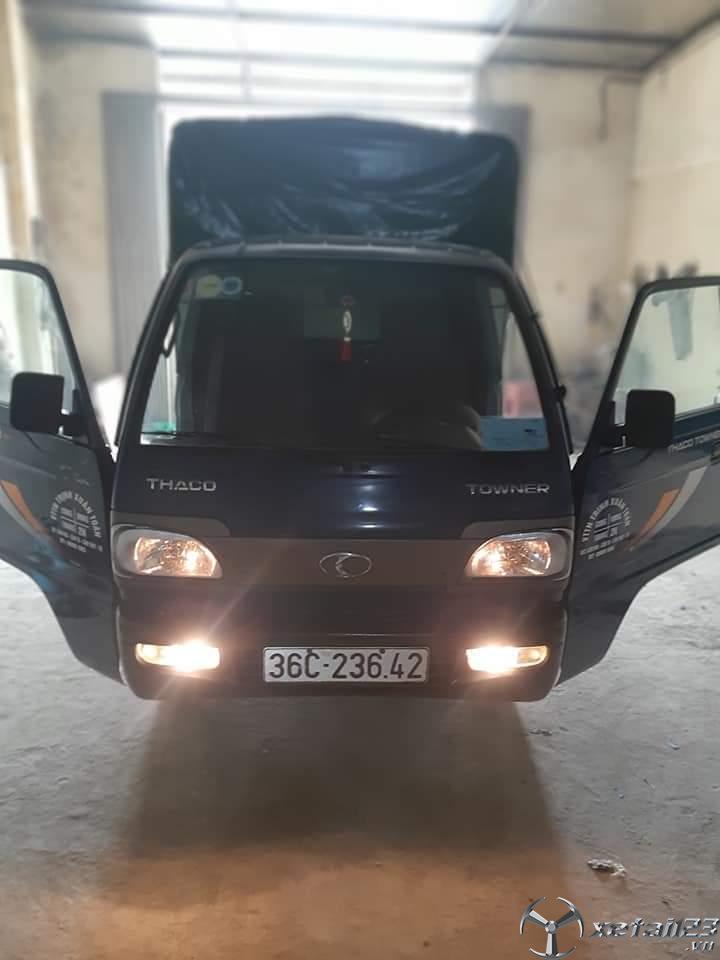 Bán Thaco Towner đời 2017 thùng mui bạt , xe đẹp giá rẻ chỉ 115 triệu