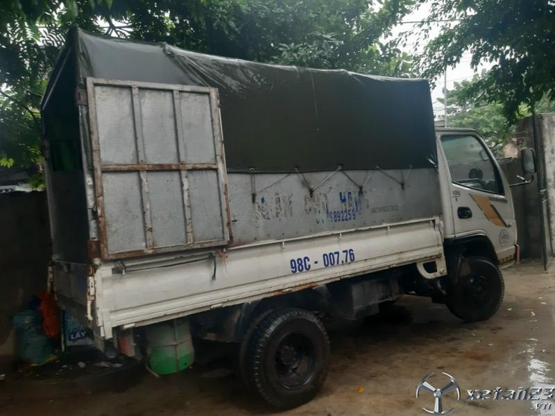 Bán Trường Giang 1,65 tấn đời 2011 thùng mui bạt giá tốt nhất