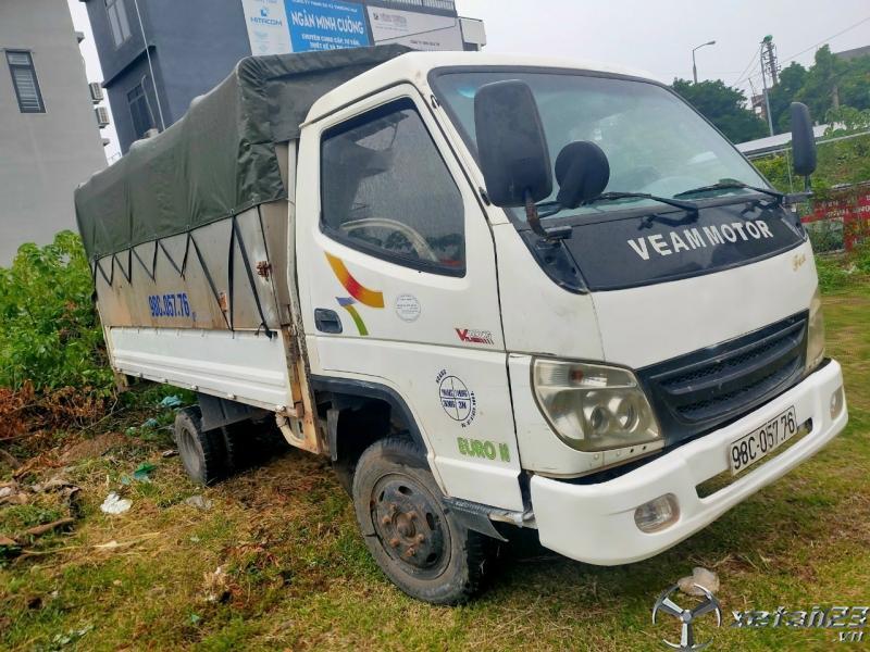 Rao bán Veam đời 2014 tải 1,49 tấn thùng mui bạt giá rẻ chỉ 108 triệu