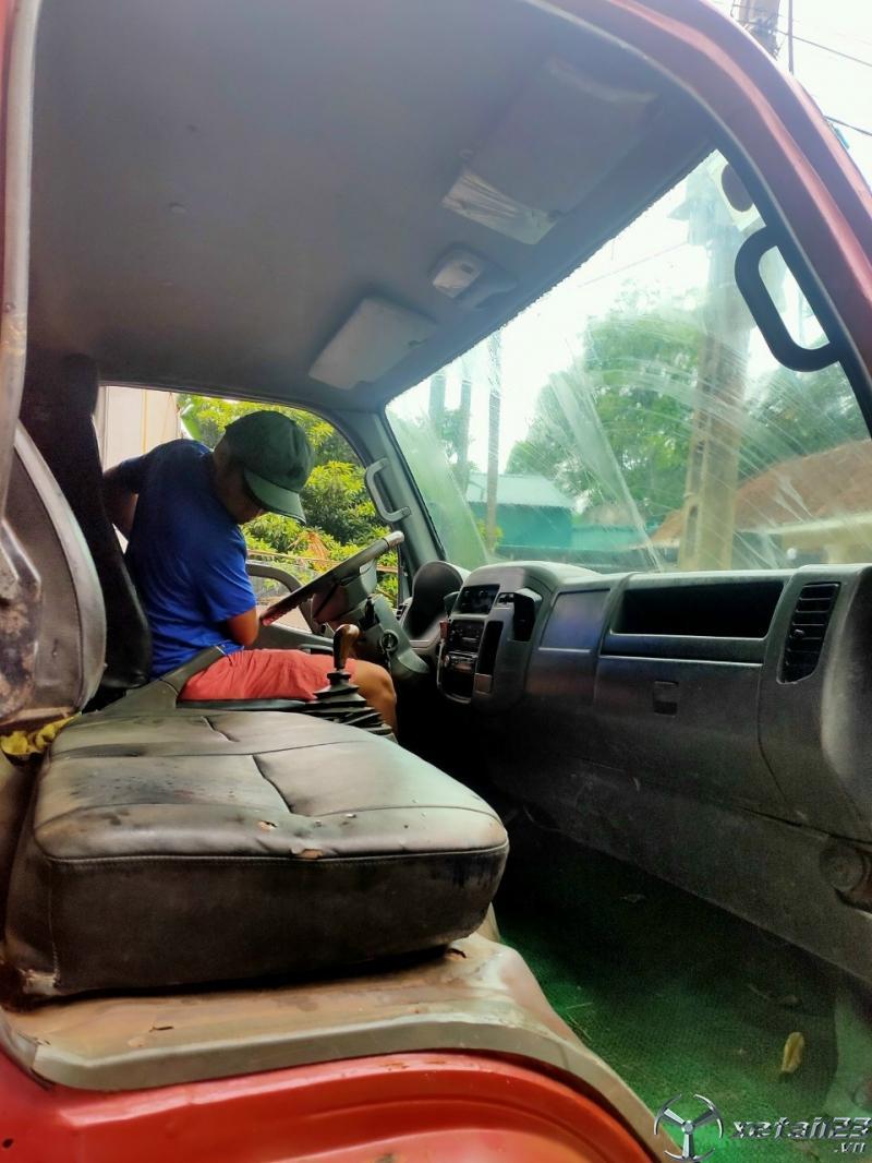 Thanh  lý gấp xe Thaco Aumark đời 2009 thùng mui bạt giá siêu rẻ chỉ 105 triệu