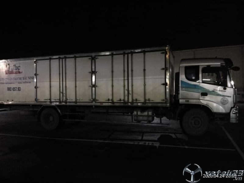 Xe tải trường Giang sx năm 2014 thùng kín đã qua sử dụng cần bán giá tốt nhất
