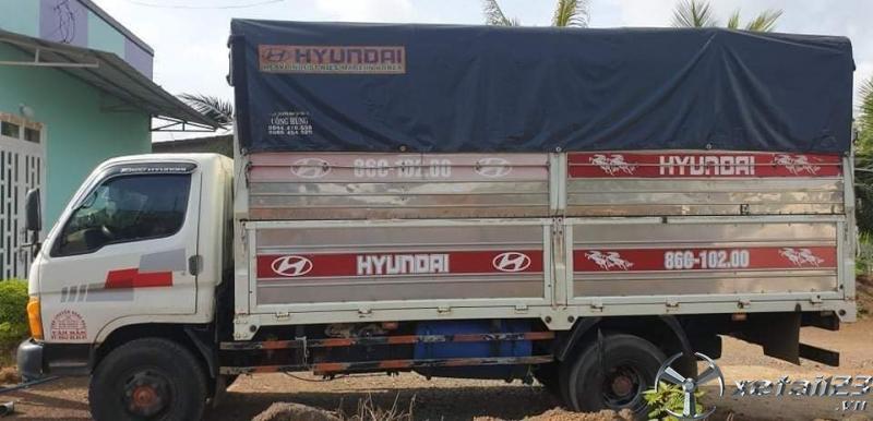 cần bán gấp xe Hyundai Mighty II đời 1999 thùng mui bạt, giá 160 triệu có thương lượng