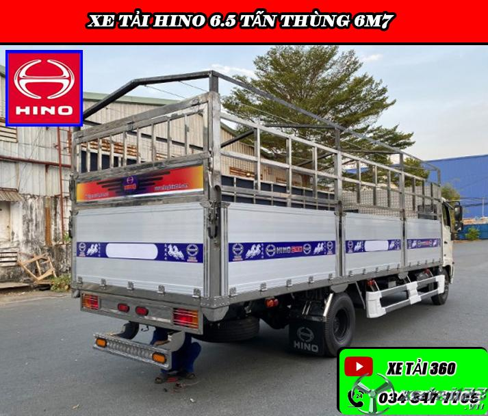 Xe tải 6.5 tấn thùng dài - Hỗ trợ trả góp 80-85%