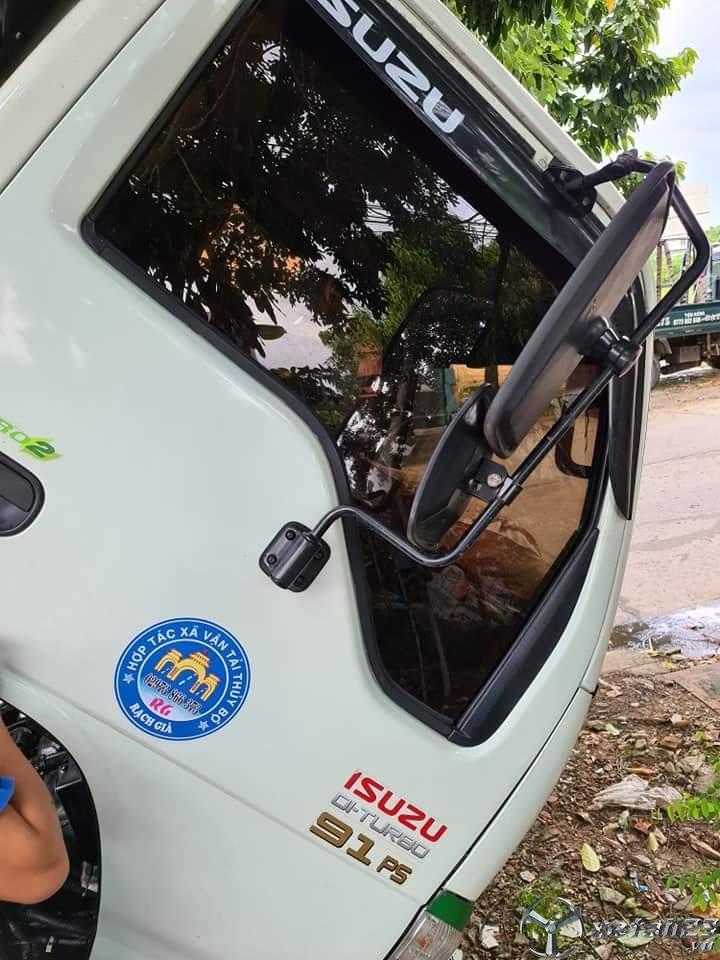 Rao bán xe Isuzu sản xuất năm 2016 thùng mui bạt giá 370 triệu