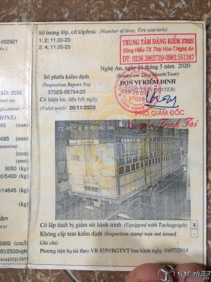 Bán Trường Giang sx 2008 thùng mui bạt đã qua sử dụng giá rẻ nhất