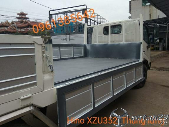 Gía xe tải Hino XZU352L 3,5 tấn thùng lửng nhập khẩu nguyên chiếc từ Indonesia
