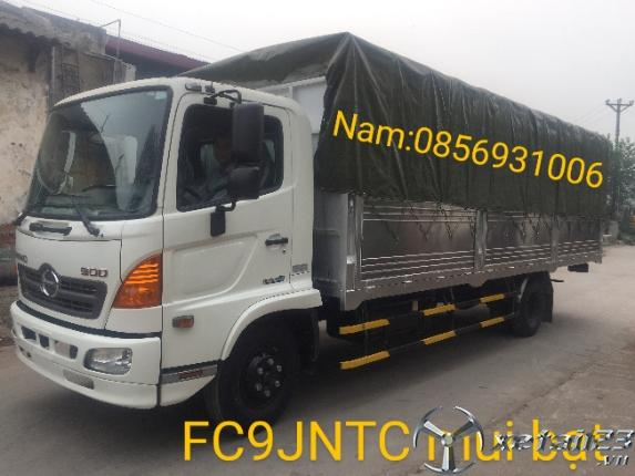 XE HINO FC9JNTC 6.3T MUI BẠT