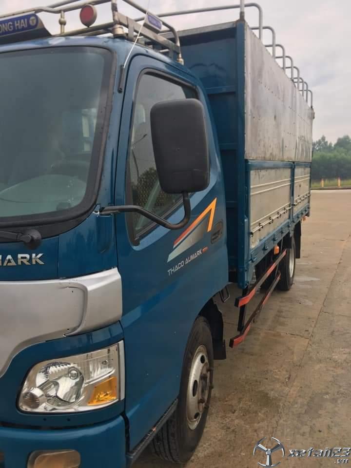 Rao bán Thaco Aumark 500A đời 2016 thùng mui bạt chỉ với 235 triệu, sẵn xe giao ngay