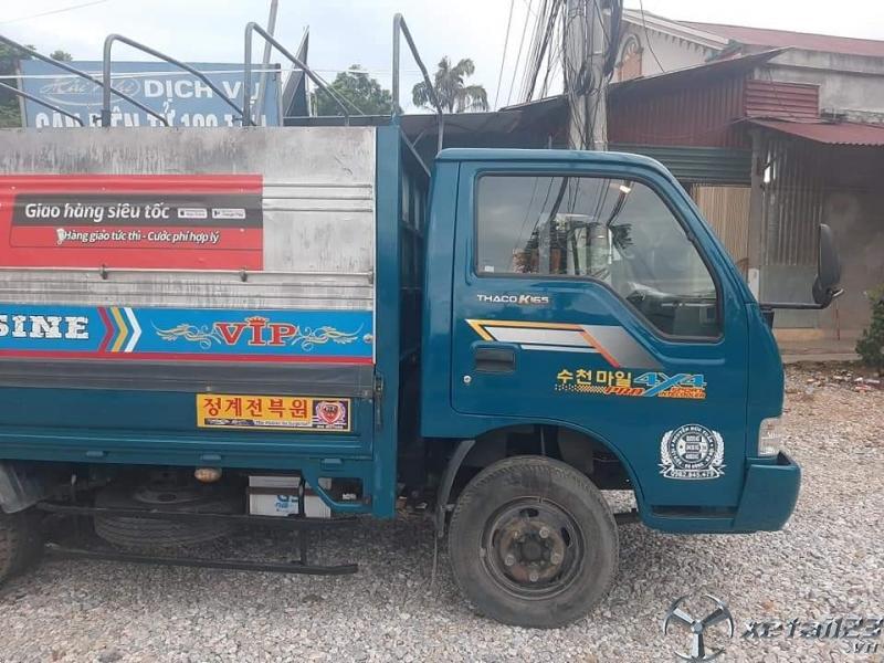 Bán Thaco K165 2,4 tấn sản xuất 2016 thùng mui bạt giá 300 triệu , sẵn xe giao ngay