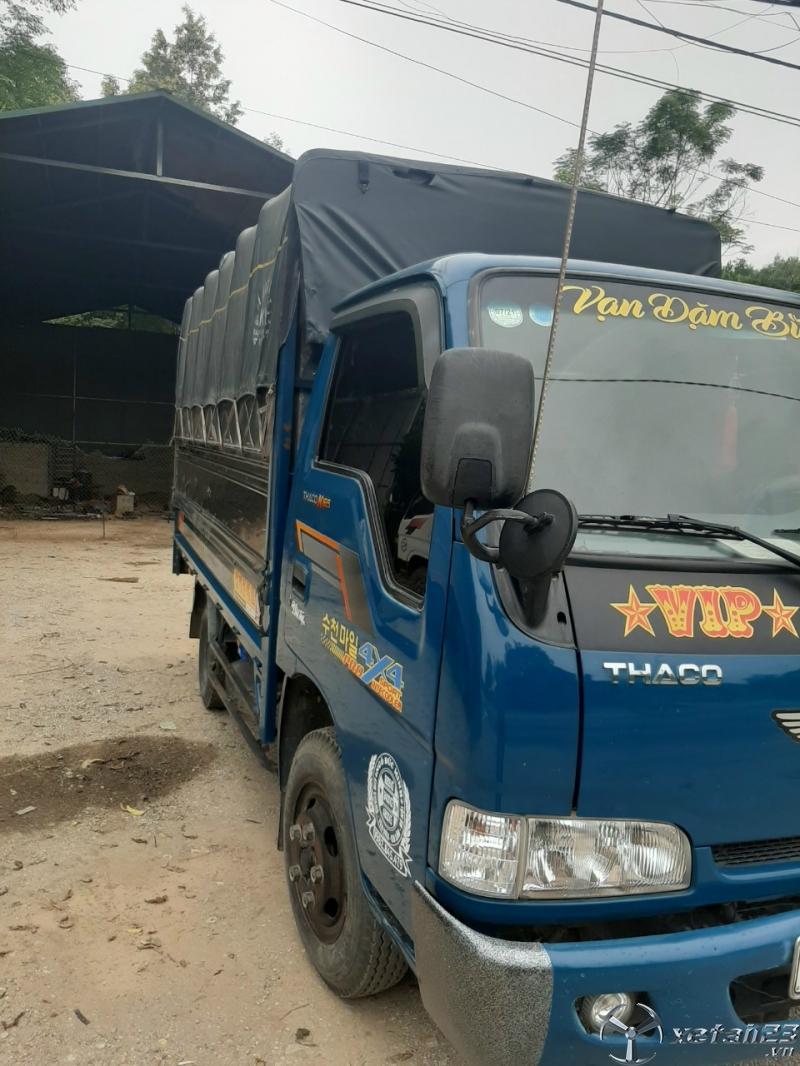 Xe Thaco K165 2,4 tấn sx 2016 thùng mui bạt đã qua sử dụng cần bán giá tốt nhất