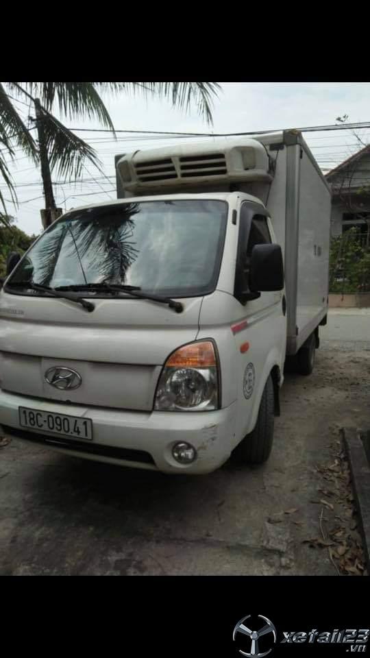 Cần bán gấp Hyundai porter II sx 2007 thùng đông lạnh với giá 185 triệu , còn thương lượng