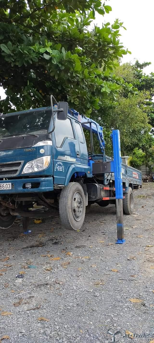 Rao bán cẩu Foton 5 tấn đời 2008 giá rẻ chỉ 285 triệu