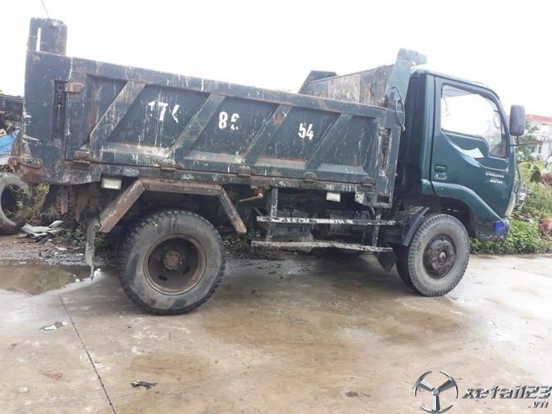 Cần bán ô tô tải tự đổ TMT sx 2008 giá chỉ 60 triệu
