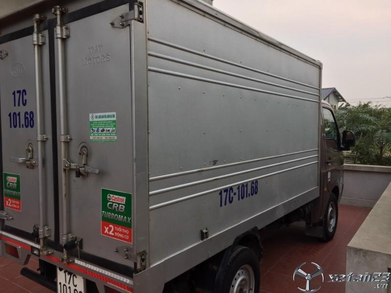 Bán xe TATA đời 2017 , đăng kí 2018 thùng kín đã qua sử dụng