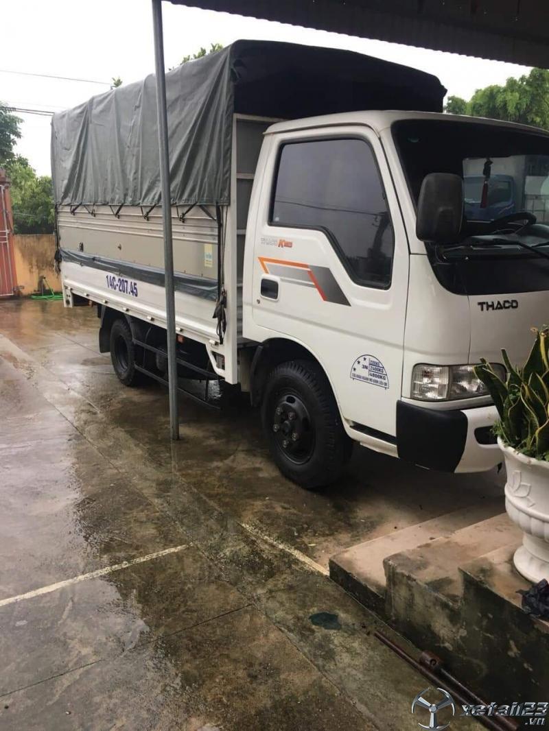Rao bán xe Thaco K165 sx 2017 thùng mui bạt giá 325 triệu