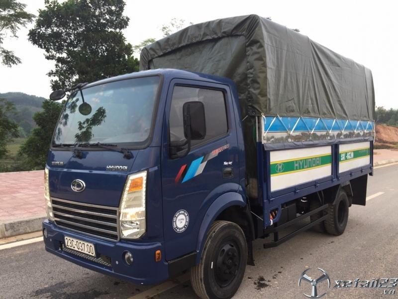 Bán xe Teraco 2,35 tấn sản xuất 2017 thùng mui bạt  giá 252 triệu