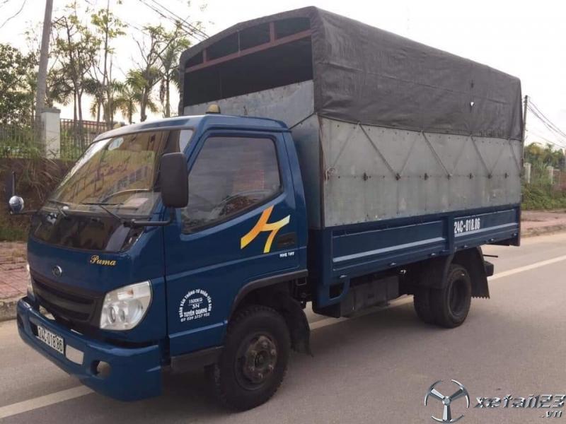 Thanh lý gấp xe tải Veam sx 2012 thùng mui bạt giá siêu rẻ chỉ 130 triệu