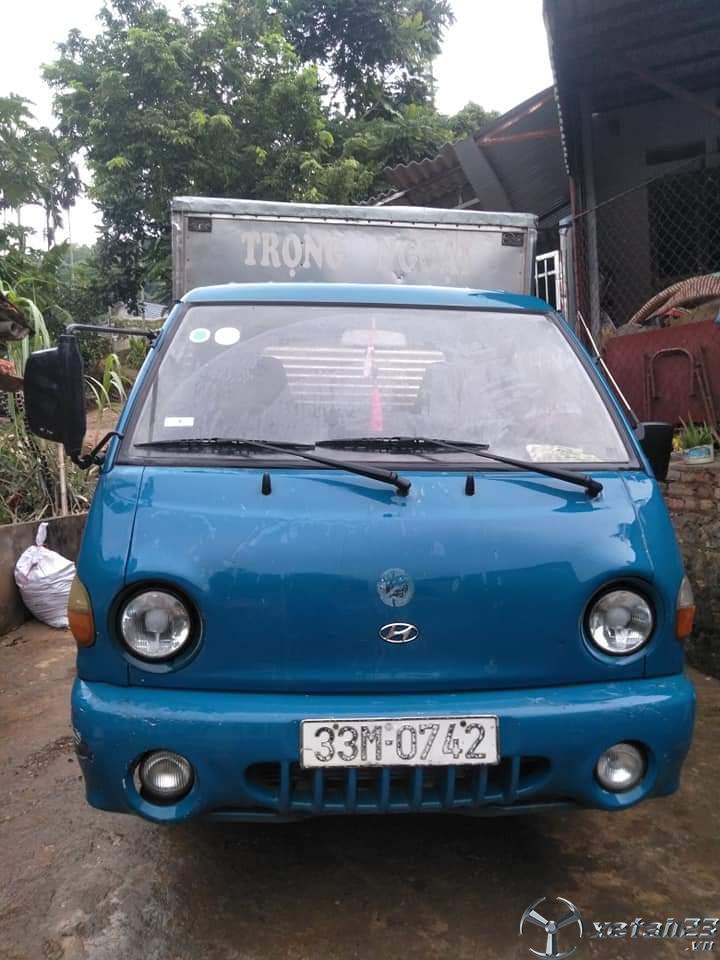 Xe Hyundai porter đời 2005 thùng kín đã qua sử dụng giá công khai 116 triệu