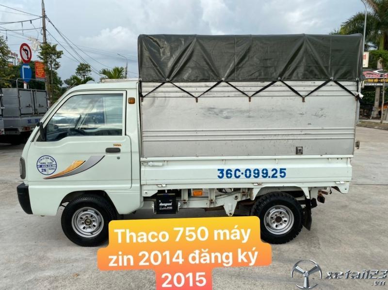 Rao bán Thaco 750 đời 2014 , thùng mui bạt giá siêu rẻ