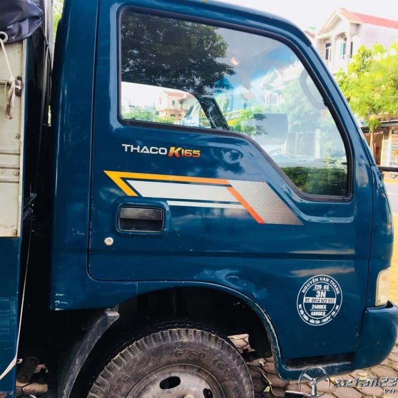 Bán Thaco K165 sản xuất năm 2015 thùng mui bạt với giá chỉ 290 triệu