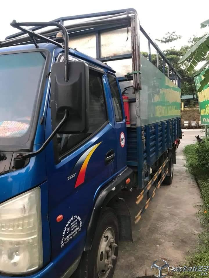 Rao bán xe TMT sản xuất năm 2015 thùng mui bạt với giá siêu rẻ chỉ 210 triệu, sẵn xe giao ngay