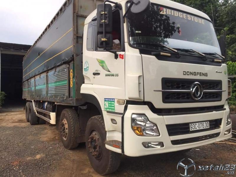 Xe Dongfeng 4 chân đời 2016 thùng mui bạt đã qua sử dụng cần bán với giá chỉ 780 triệu