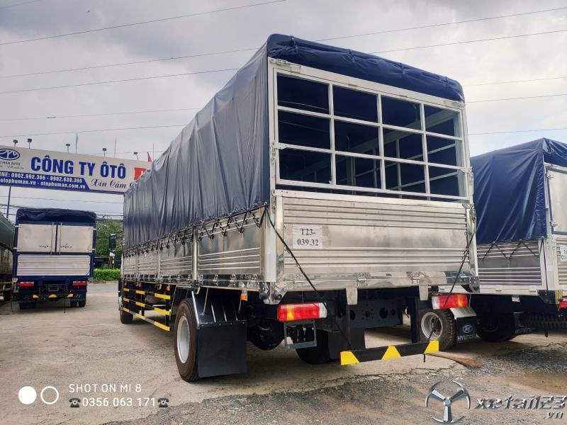 Càn bán xe tải 9 tấn Trung Quốc  thùng dài chở pallet, niệm, bao bì.....