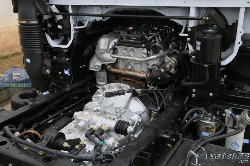 Xe Tải Nissan 1.9 Tấn - 3.5 Tấn Thùng Bạt Kín Dài 4.2 Mét Giá Rẻ Động Cơ Nhật Bản
