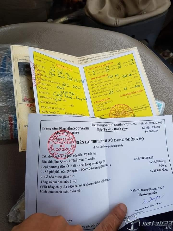 Bán Chiến Thắng đời 2014 thùng mui bạt, giá công khai 165 triệu