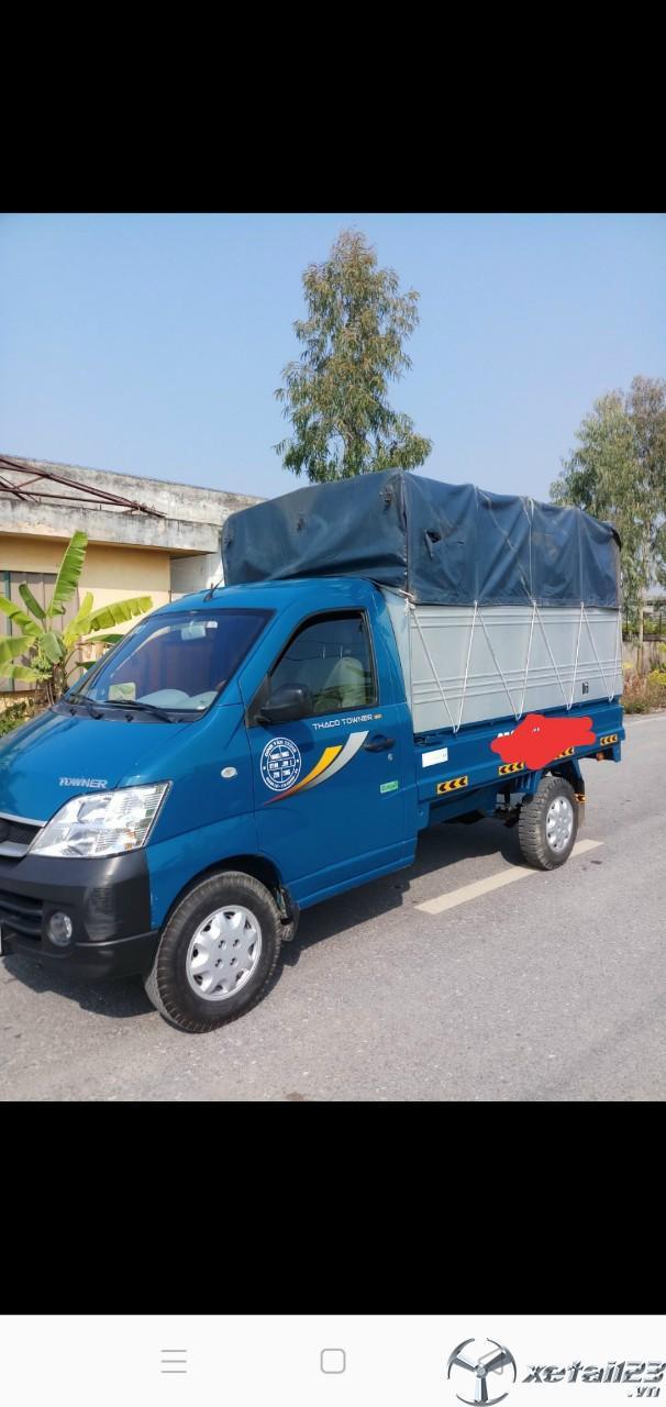 Xe Thaco Towner sản xuất năm 2017 thùng mui bạt cần bán giá rẻ nhất