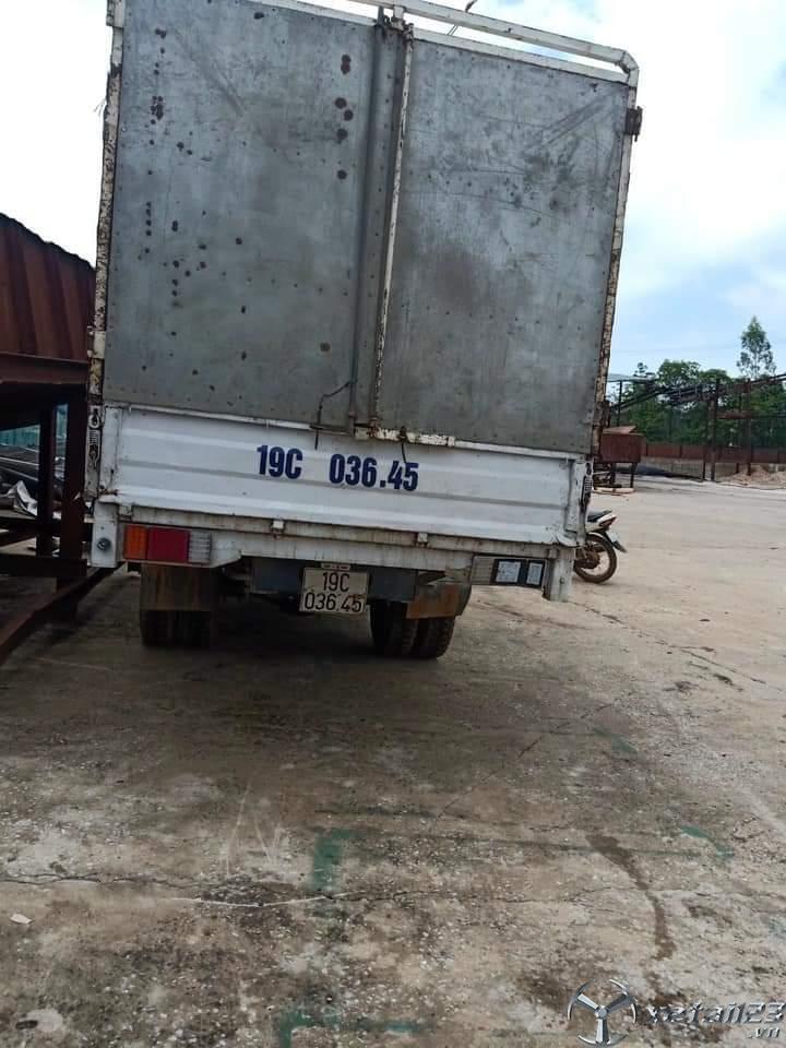 Cần bán chiếc xe Chiến Thắng 2,5 tấn đời 2010 thùng mui bạt