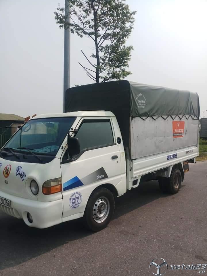Cần bán gấp xe Hyundai Porter sx 2003 thùng mui bạt chỉ với 115 triệu