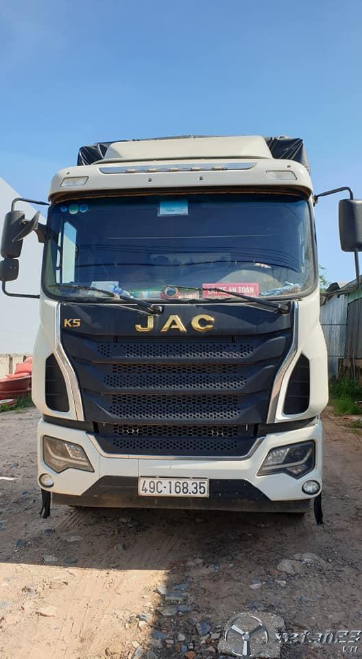 Bán JAC sản xuất năm 2017 thùng mui bạt