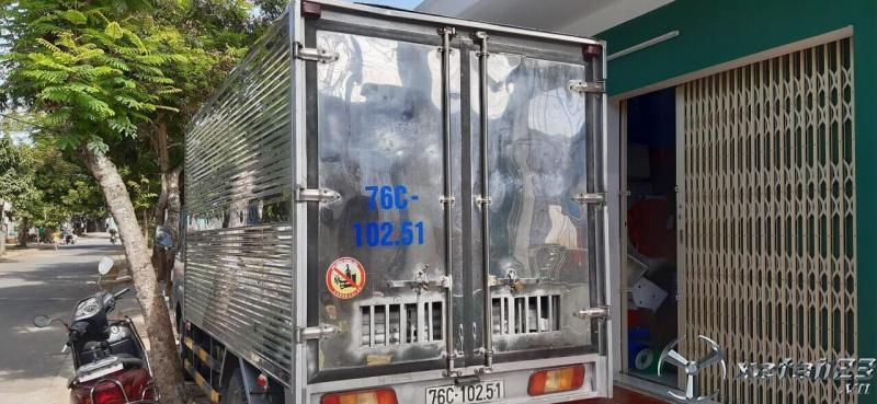 Thanh lý gấp xe Teraco đời 2017 thùng kín với giá 250 triệu