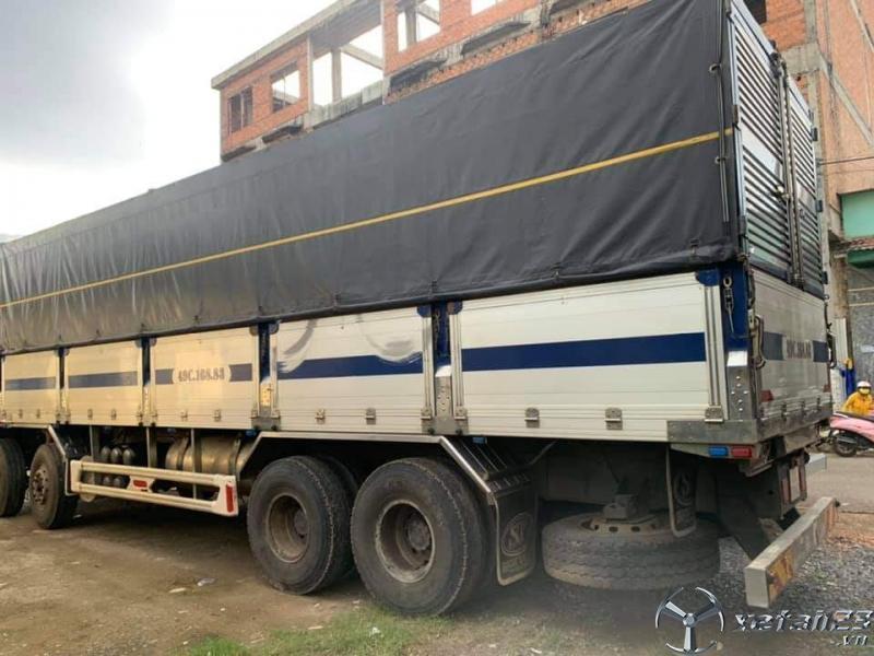 Rao bán xe Daewoo sản xuất 2014 thùng mui bạt với giá 1480 triệu