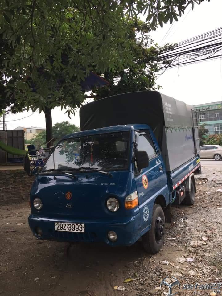 Cần bán gấp Hyundai H100 porter sx 2007 thùng mui bạt với giá 165 triệu, sẵn xe giao ngay