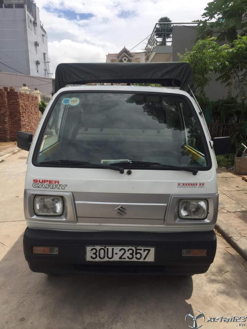 Rao bán xe Suzuki dời 2011 thùng mui bạt giá công khai 110 triệu