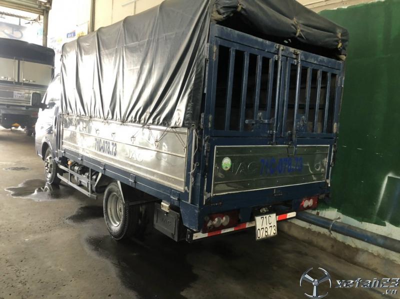 Xe JAC 1,4 tấn đời 2016 thùng mui bạt đã qua sử dụng cần bán giá rẻ nhất, sẵn xe giao ngay