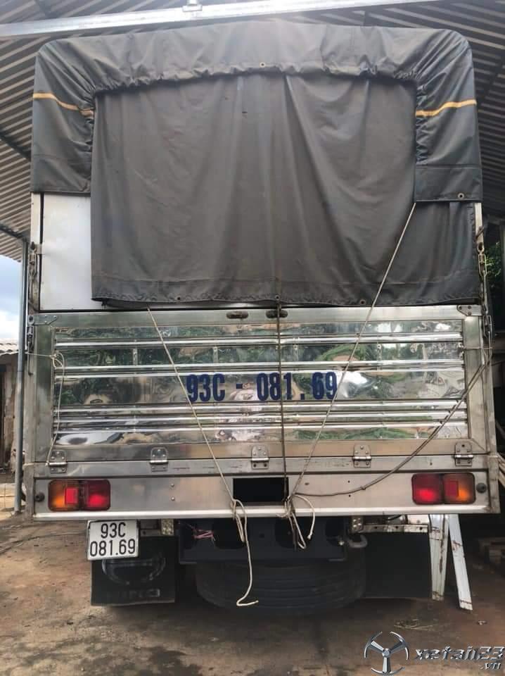 Bán xe Hino 3 chân 2 cầu thật đời 2016 thùng mui bạt giá chỉ 1200 triệu