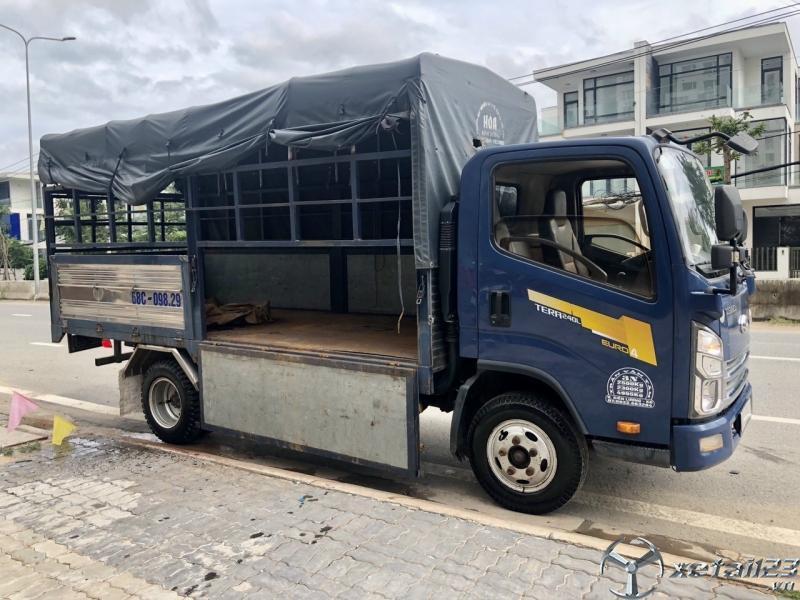 Bán xe Teraco 2,3 tấn đới 2018 thùng mui bạt dài 4,3m