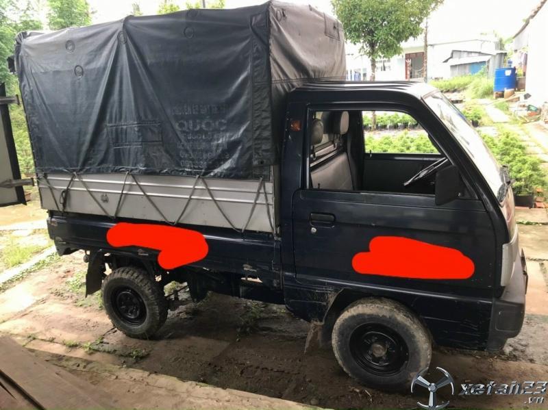 Cần bán xe tải Suzuki đời 2013 thùng mui bạt