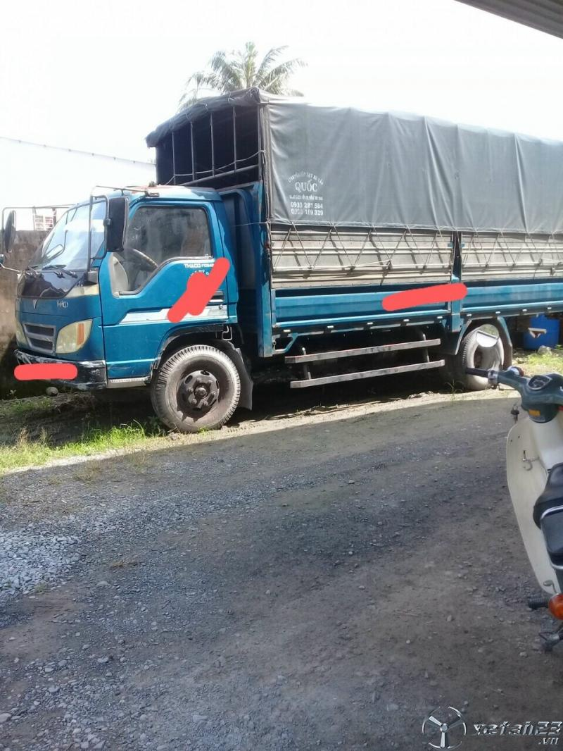 Cần nhượng bán xe Thaco FC345 3,2 tấn đời 2009 thùng mui bạt