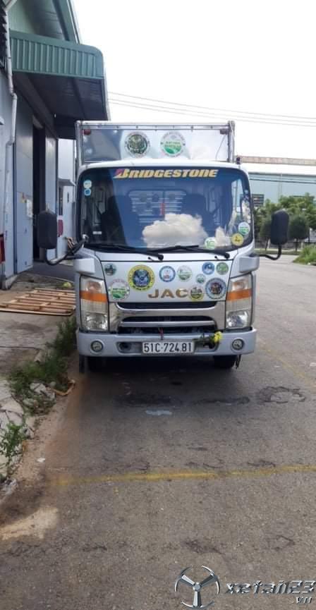 Bán gấp xe JAC đòi 2015 thùng kín giá chỉ 230 triệu