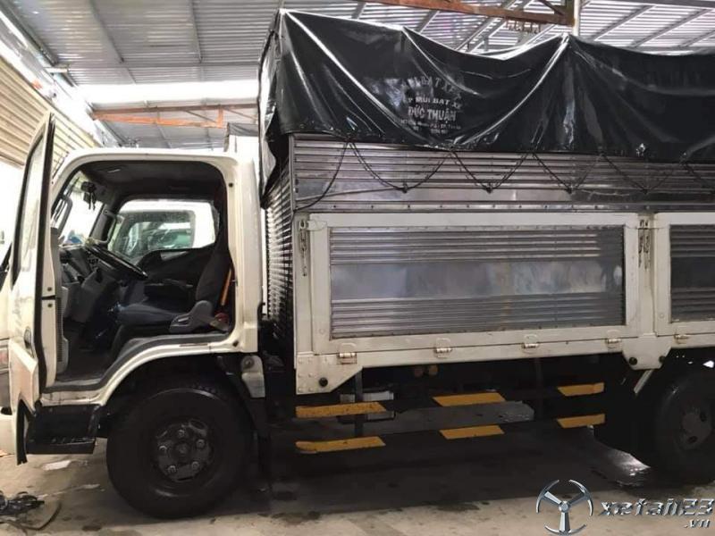 Rao bán xe Mitsubishi Canter đời 2013 thùng mui bạt chỉ với 350 triệu