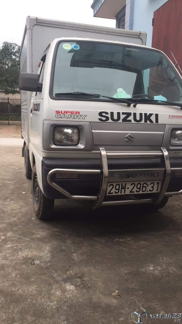 Thanh lý gấp xe Suzuki đời 2010 thùng kín giá 140 triệu