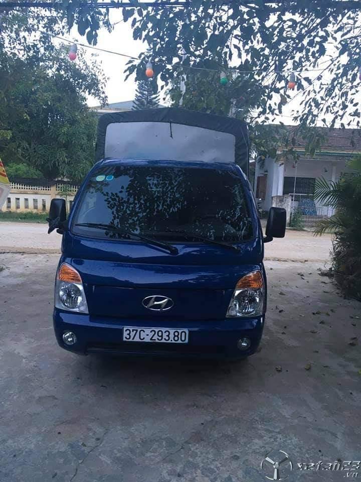 Rao bán xe Hyundai Porter II đời 2005 thùng mui bạt chỉ với 180 triệu