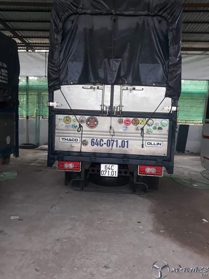 Bán Thaco Ollin đời 2018 thùng mui bạt chỉ với 300 triệu
