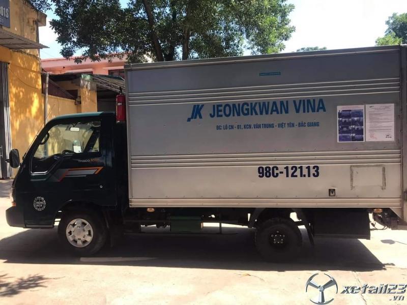 Bán Thaco K190 đời 2016 phiên bản thùng kín giá công khai 260 triệu