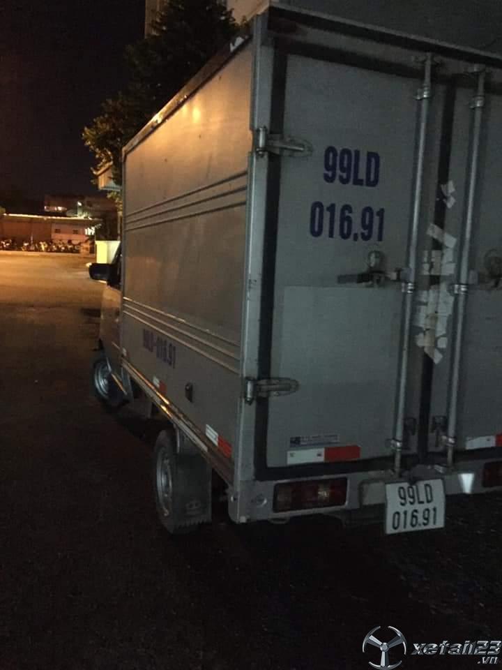 Bán xe Dongben đời 2018 thùng kín giá chỉ 115 triệu