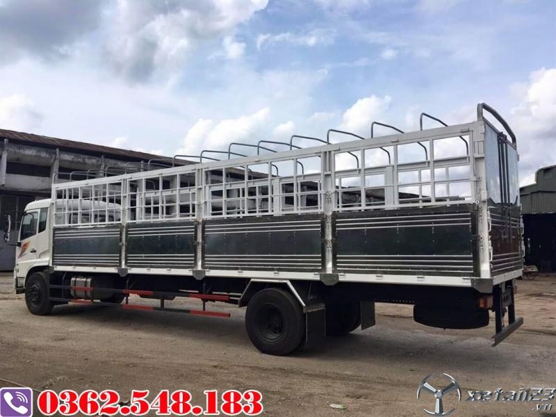 Giá xe tải dongfeng 9 tấn thùng dài 9.5 mét nhập khẩu
